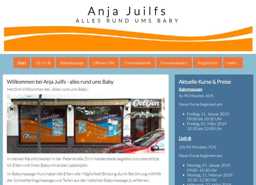 Anja Juilfs - Alles rund ums Baby