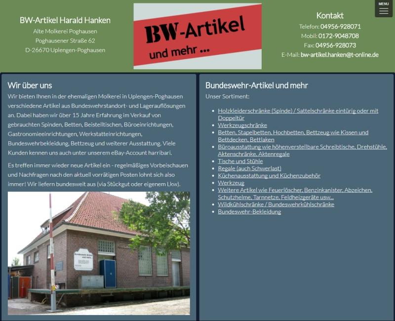 BW-Artikel Harald Hanken
