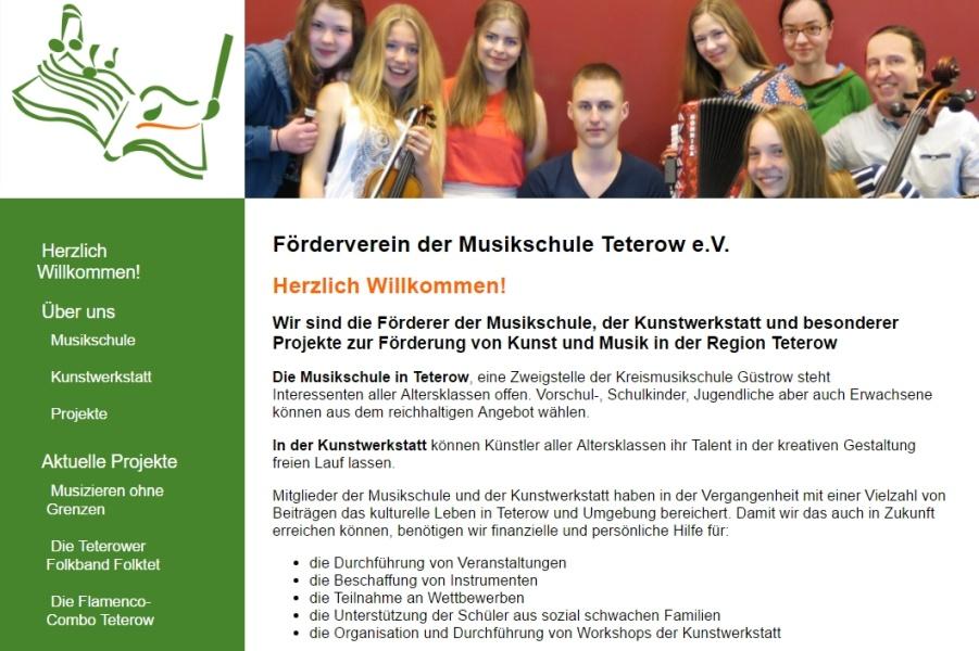 Förderverein der Musikschule Teterow e.v.