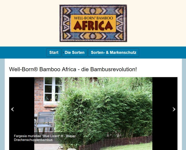 Well-Born Bamboo Africa